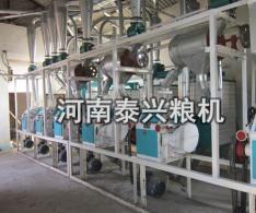 日处理20-30吨卧式面粉机组
