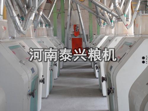 河北邯郸120吨级面粉机