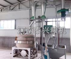 80型全自动石磨面粉机