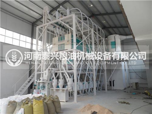 60吨级面粉机组