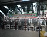 河南济源6组石磨面粉机安装案例