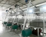 平顶山4组石磨面粉机安装案例