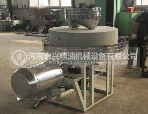 100型半自动石磨面粉机