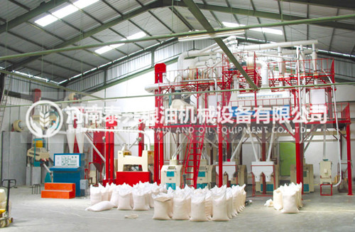 80吨级面粉机组