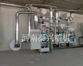甘肃庆阳面粉机械设备安装案例
